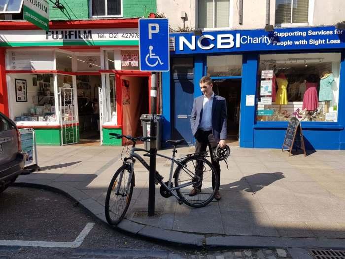 ben and his bike cork city